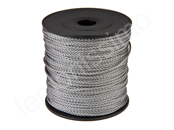 5m string polyester : grey