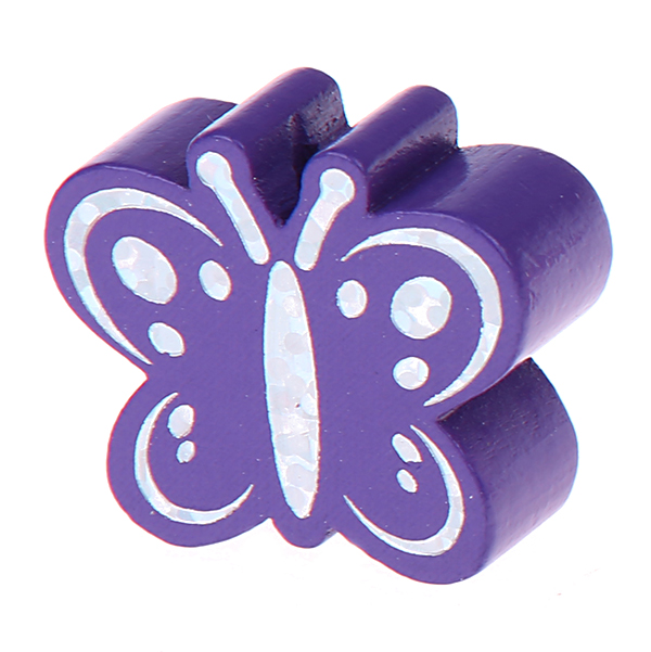 glittery butterfly : lilac