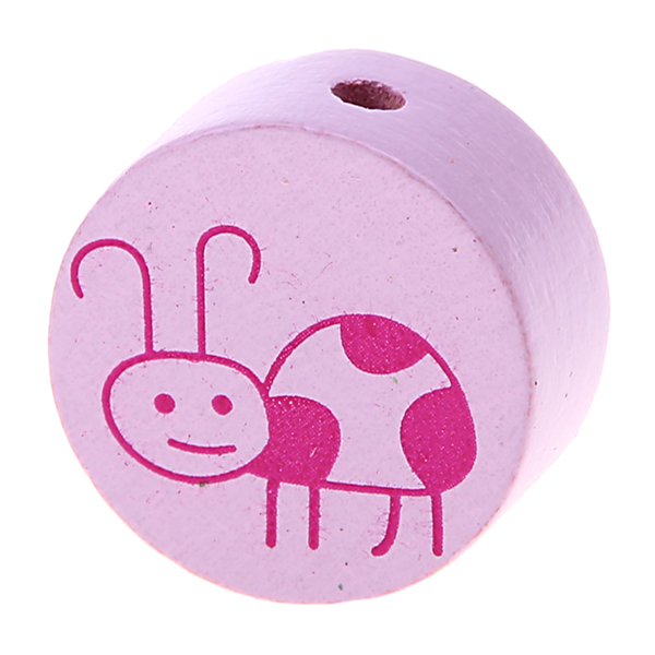 bug disc - sale : light pink