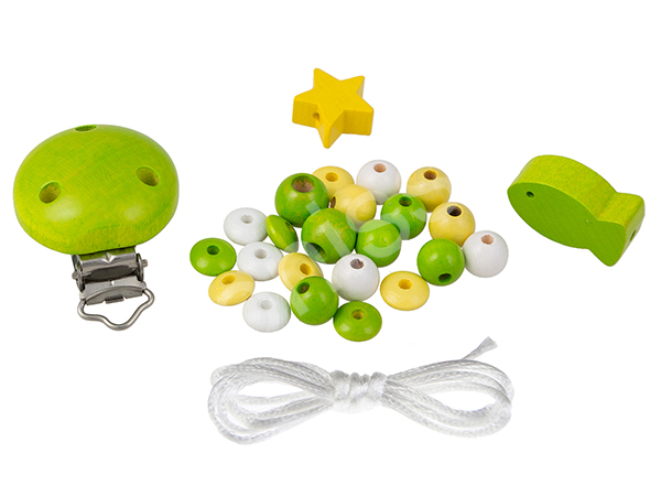 do it yourself set fish babyblue : chartreuse