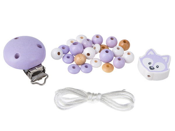 Set fox : lavender