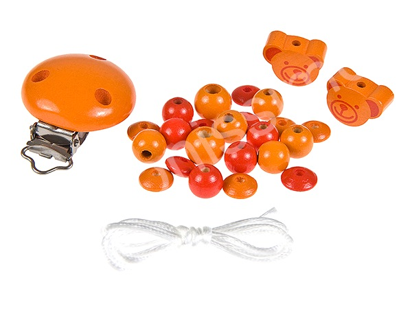 Set for dummy holder minibears : orange