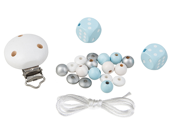 do it yourself set cubes : babyblue