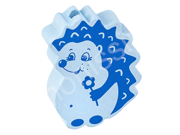 motif bead hedgehog : blue