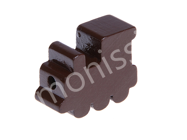 motif bead locomotive : brown