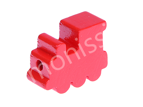 motif bead locomotive : red