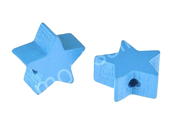 motif bead mini star : light blue