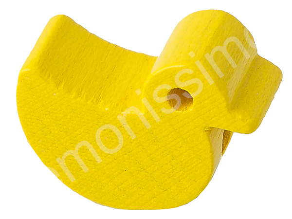 motif bead little duck : yellow