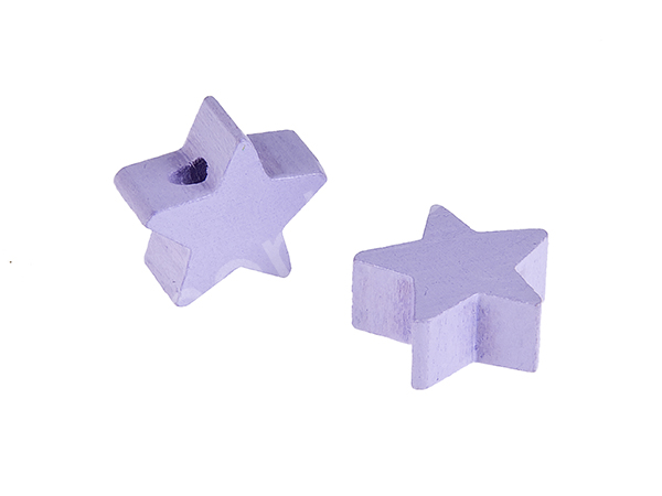 motif bead mini star : lavender