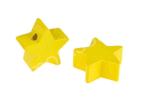 motif bead mini star : yellow