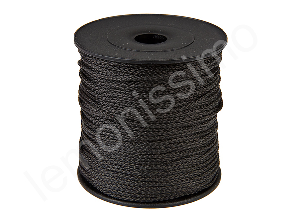 5m string polyester : black