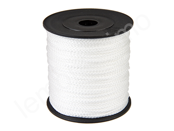 5m string polyester : white