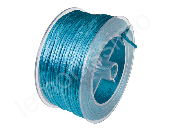 Satin cord 5m : light turqouise