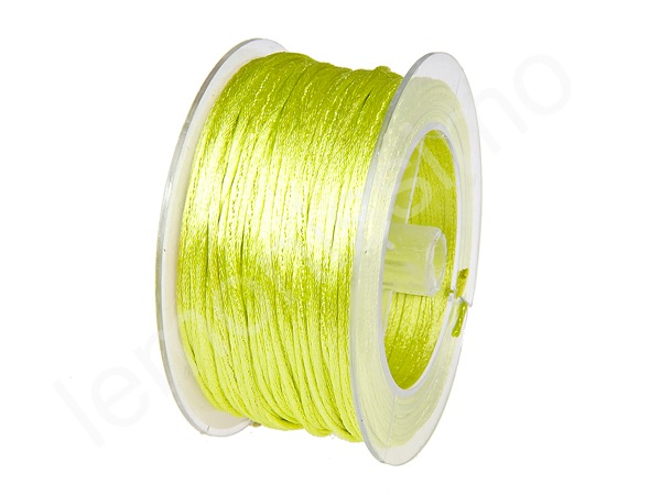 Satin cord 5m : lemon