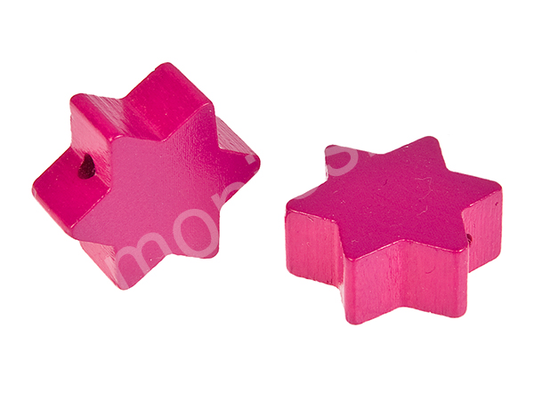 motif bead star : darkpink