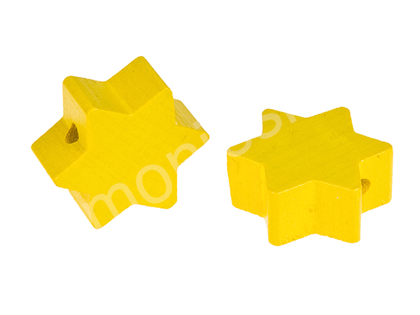 motif bead star : yellow