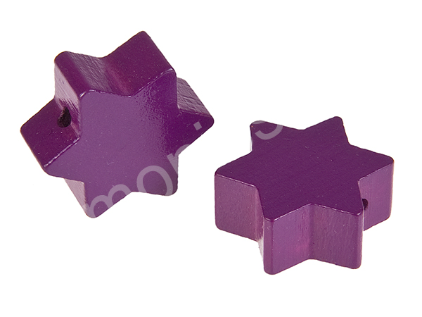motif bead star : purple